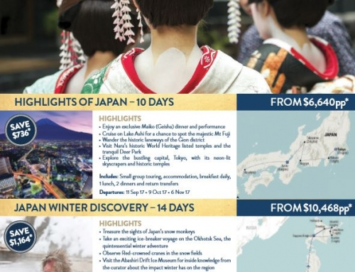10% Off Japan Small Group Tours