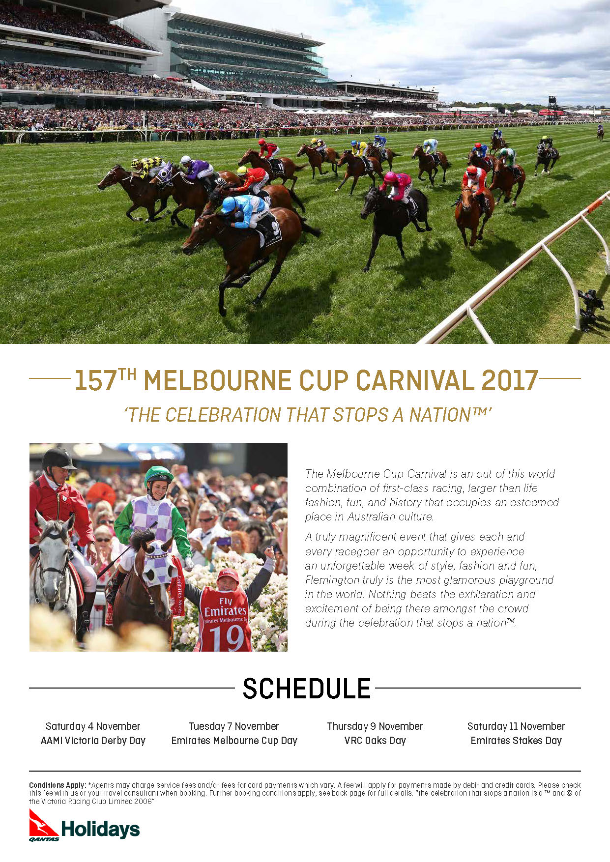 157th Melbourne Cup Carnival 2017 Zeppelintravel