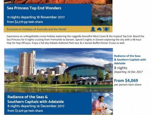 Discover the BEST of AUSTRALIA – Cruise and Rail Holidays