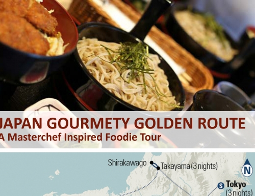 JAPAN GOURMETY GOLDEN ROUTE A – Masterchef Inspired Foodie Tour