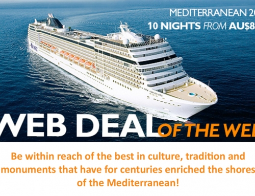 Mediterranean cruise deals december 2018