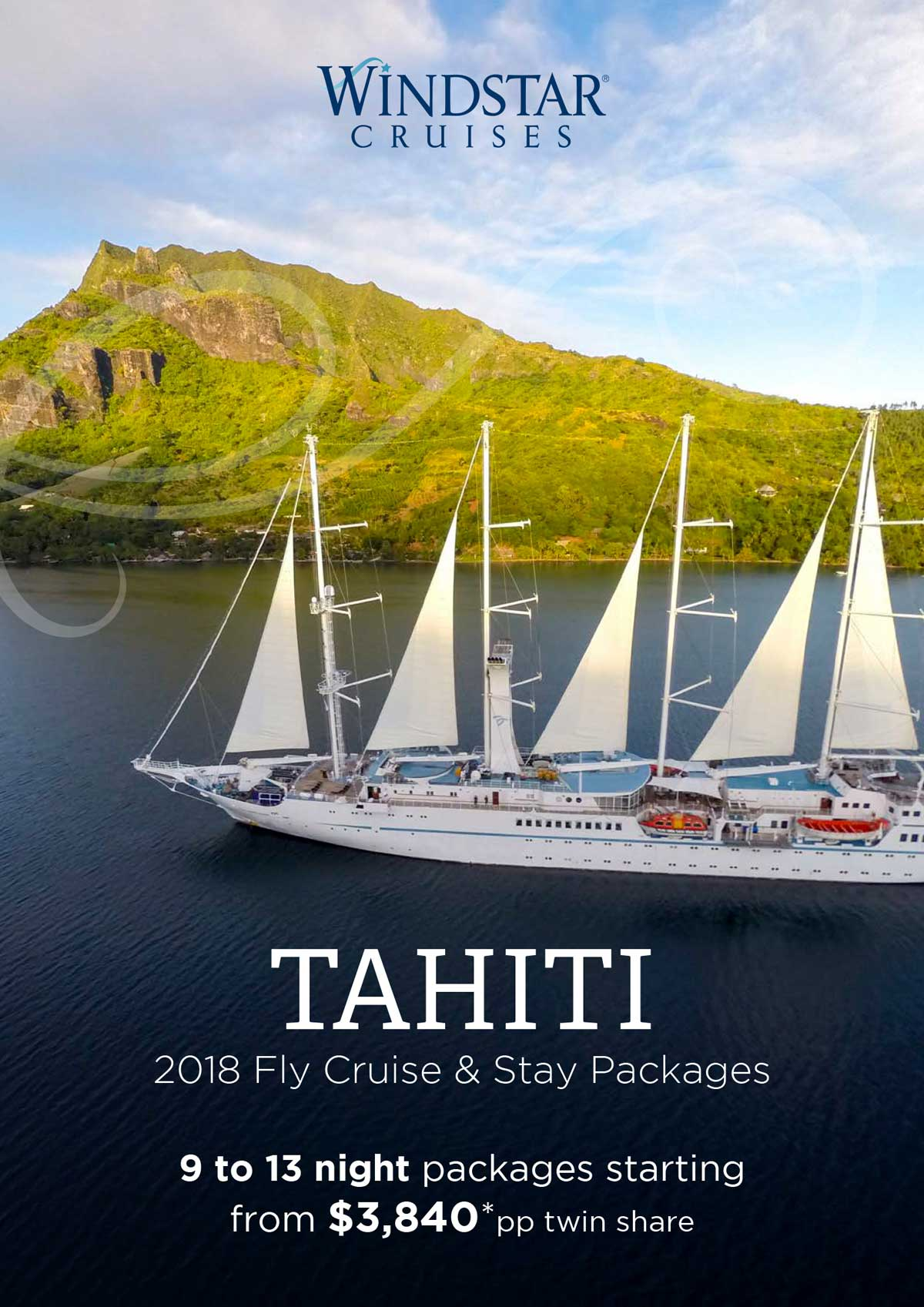 Tahiti 2018 Fly Cruise Amp Stay Packages Zeppelintravel