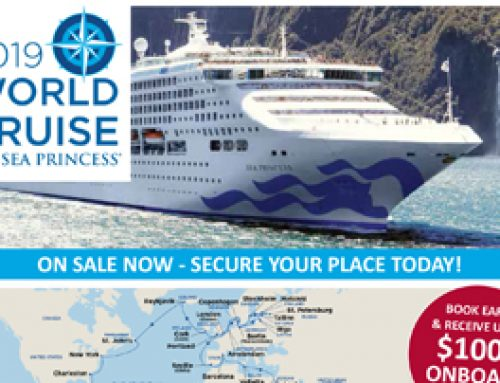 2019 WORLD CRUISE – SEA PRINCESS