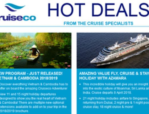 HOT DEALS FROM THE CRUISE SPECIALISTS