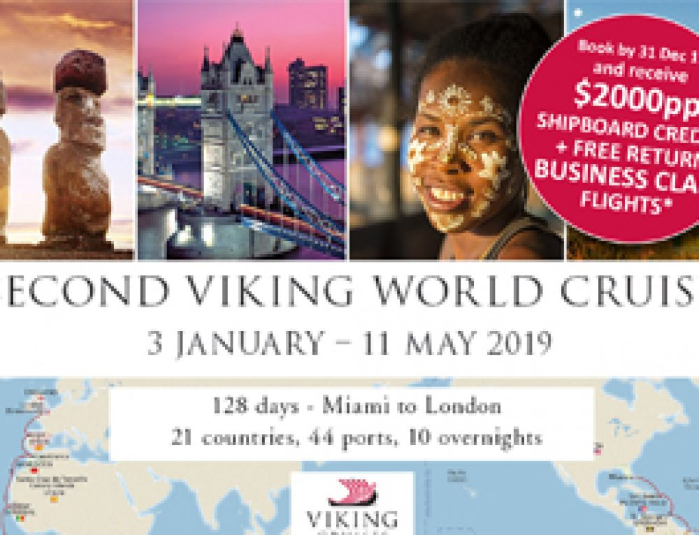 Second Viking World Cruise