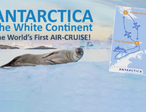 ANTARCTICA The White Continent The World's First AIR-CRUISE!
