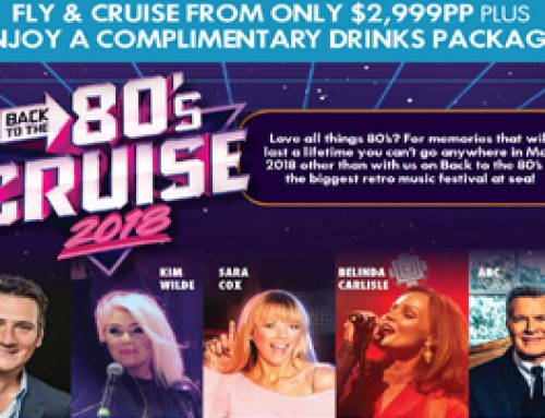Back to the 80's Cruise 2018