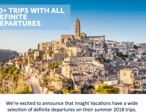 Insight Vacations Europe and North America Trips