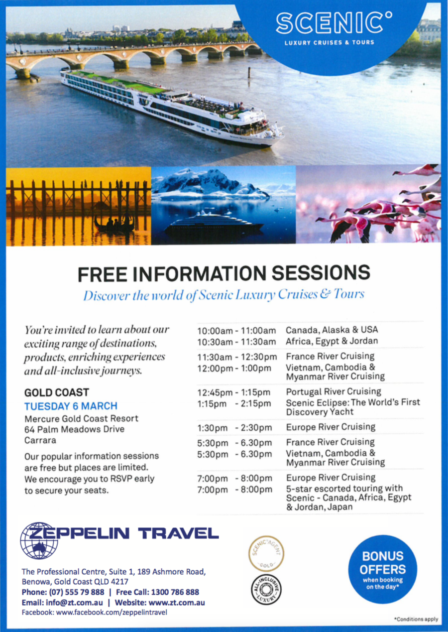 Scenic Information Sessions