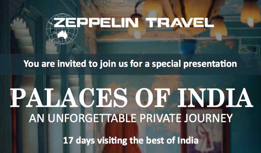 palaces of India feature
