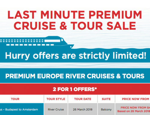 Last Minute Premium Cruise and Tour Sale