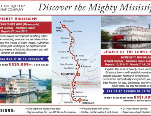 Discover the Mighty Mississippi with American Queen Steamboat Company