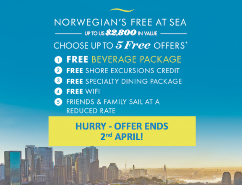 Norwegian's Free at Sea