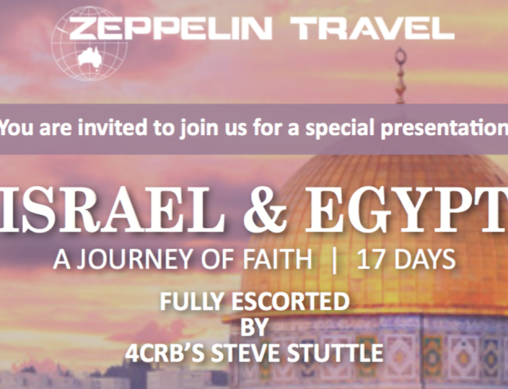 Israel and Egypt Special Presentation