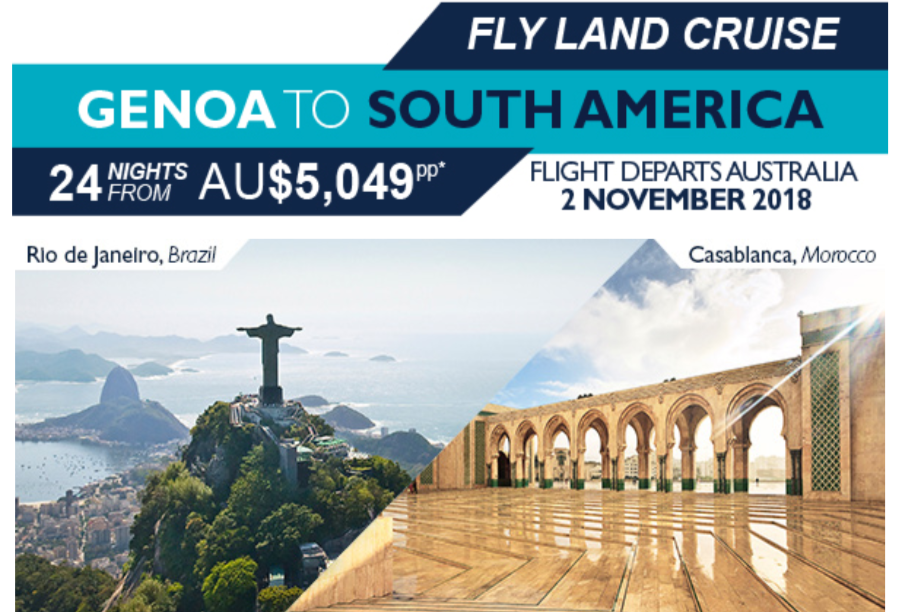 Genoa to South America feature