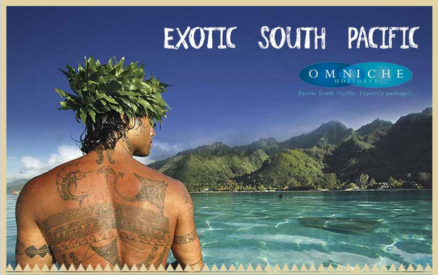 Exotic South Pacific feature