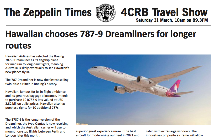 Zeppelin Travel 31/03 feature