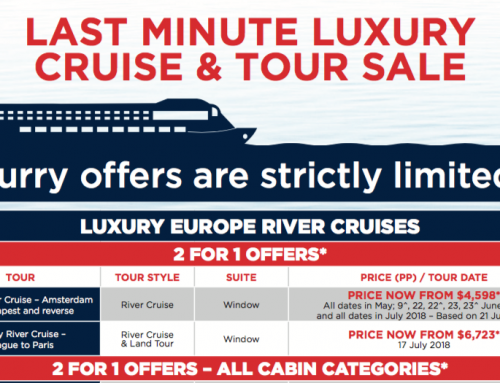 Last Minute Luxury Cruise & Tour Sale