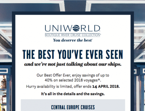 Uniworld's Best Ever Offers