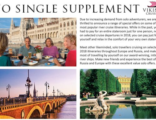 Viking Cruises – No Single Supplement