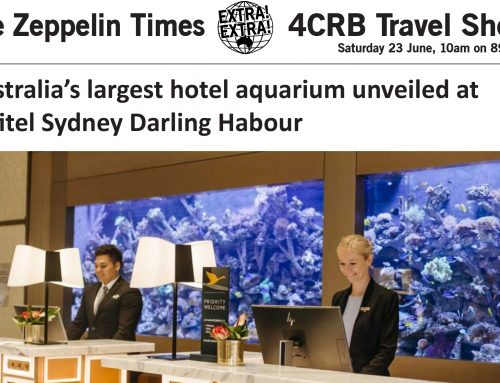 The Zeppelin Times 4CRB Travel Show Saturday 23 June, 10am on 89.3FM