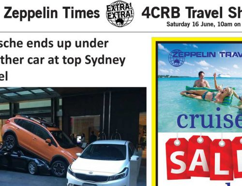 The Zeppelin Times 4CRB Travel Show Saturday 16 June, 10am on 89.3FM