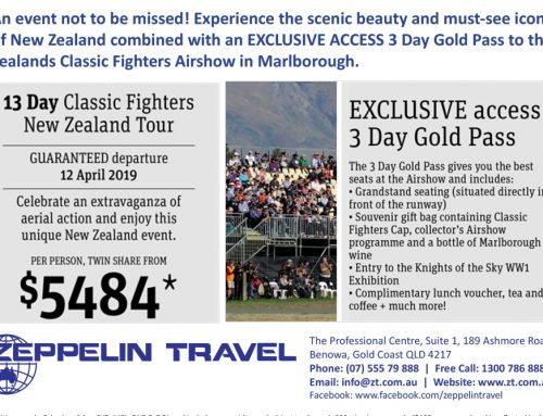 13 Day CLASSIC FIGHTERS New Zealand Tour
