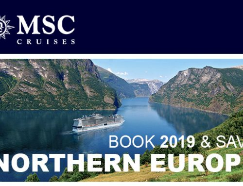 Book Northern Europe for 2019 and SAVE