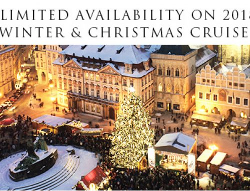 Limited availability on 2018 winter and Christmas cruises