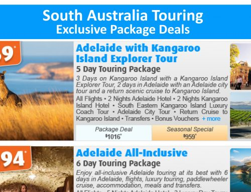 South Australia Touring Exclusive Package Deals