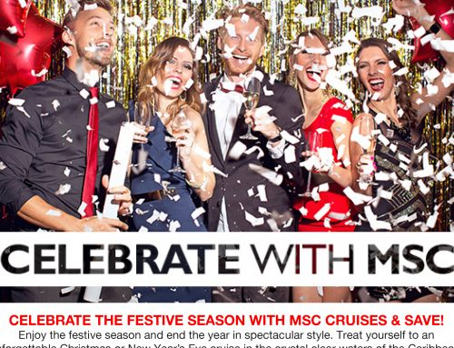 Celebrate the Festive Season with MSC Cruises & Save!