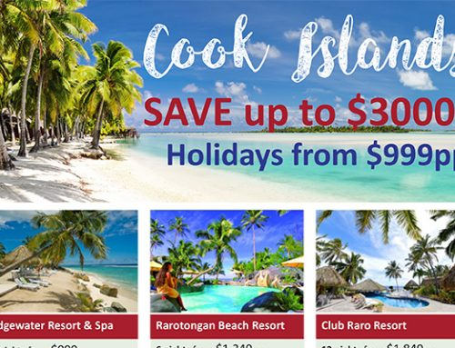 Cook Islands Sale – Save Up To $3000