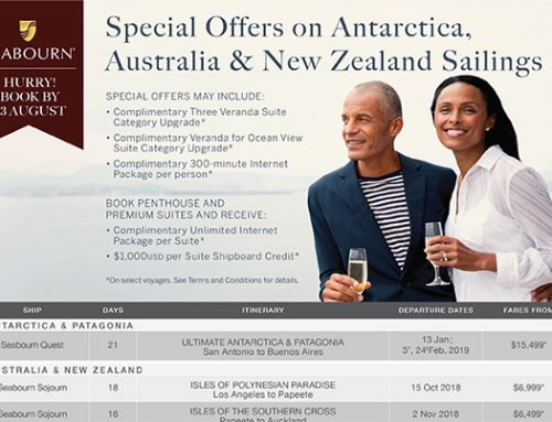 Special Offers on Antarctica, Australia & New Zealand Sailings