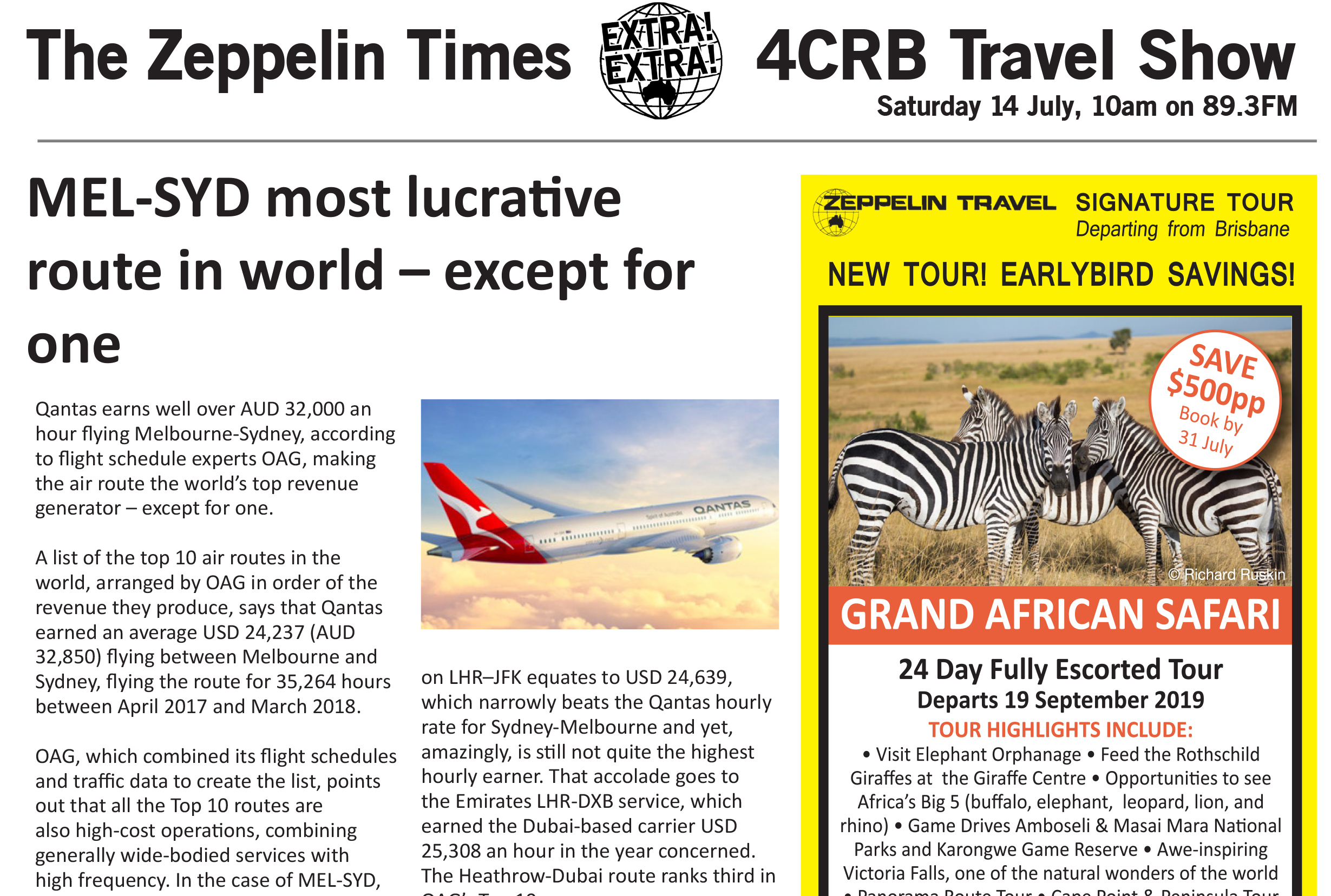 The Zeppelin Times 14 July 4CRB