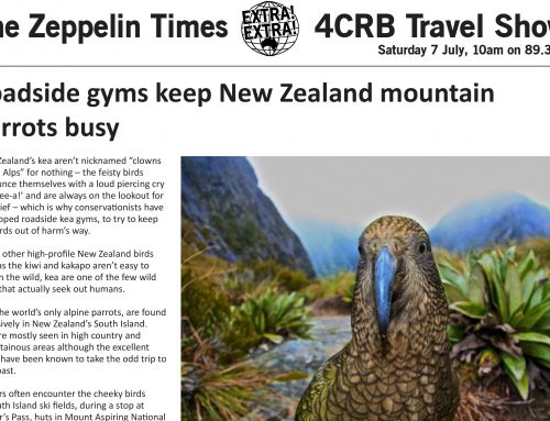 The Zeppelin Times 4CRB Travel Show Saturday 7 July, 10am on 89.3FM