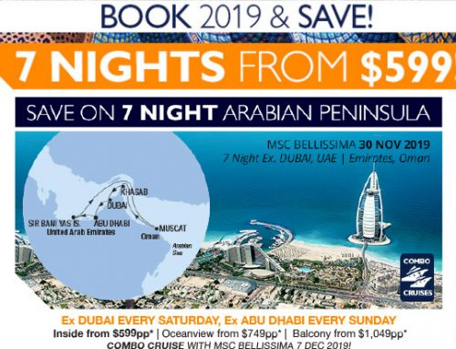MSC – Arabian Peninsula & India Cruising Supersaver