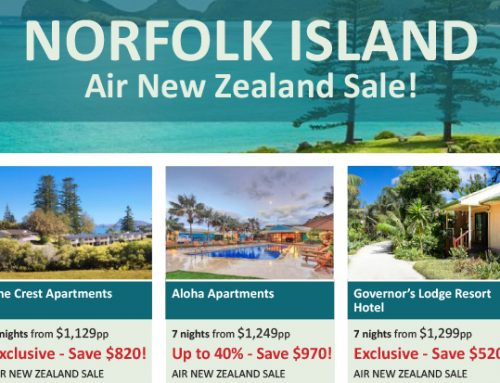 Omniche – Norfolk Island Air NZ Sale!