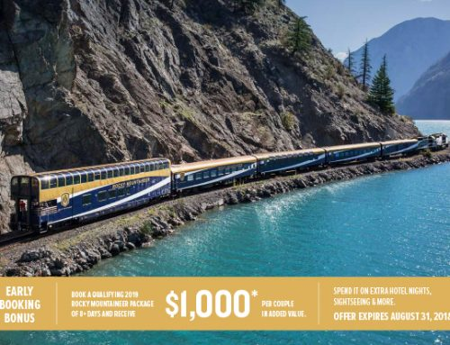 Rocky Mountaineer – 2019 Early Bird Offer