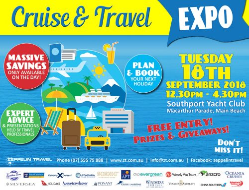 Cruise & Travel Expo + Presentation Times