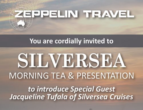 Your Invitation: Silversea Morning Tea & Presentation