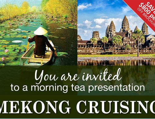Mekong Cruising: Morning Tea Presentation