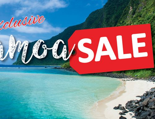 Exclusive Samoa Sale