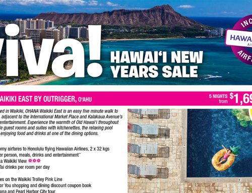 Hawaii New Year Sale!