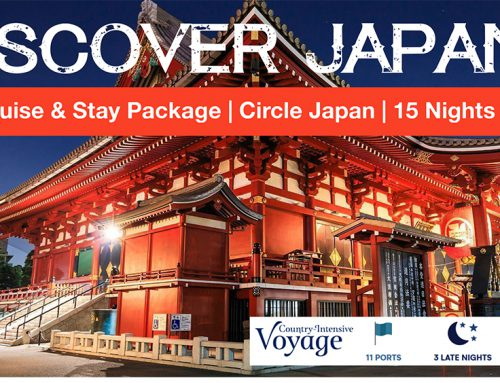 Discover Japan – Fly, Cruise & Stay Special
