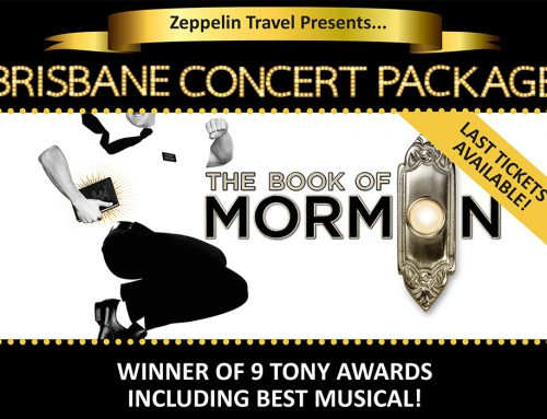 LAST SEATS! Book of Mormon: Brisbane Concert Package