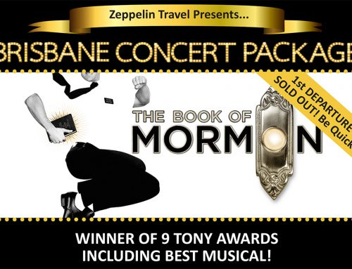 Book of Mormon: Brisbane Concert Package – 2nd Departure