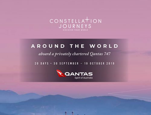 Around the World Aboard a Privately Chartered Qantas 747