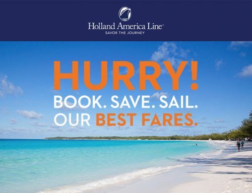 Book. Sail. Save