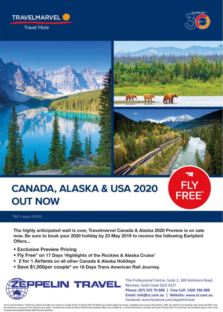 TravelMarvel Canada & Alaska 2020 Preview Out Now