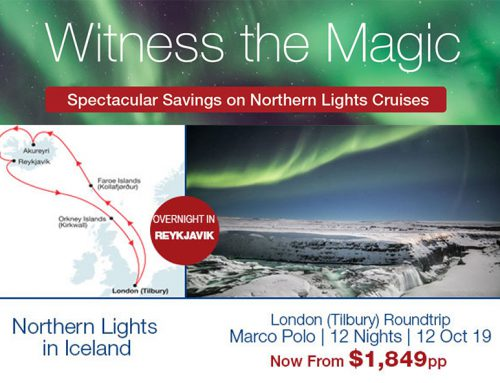 Witness the Magic: Spectacular Savings on Northern Lights Cruises